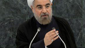 USA optimistisch, Israel skeptisch: Irans Präsident Rohani sendet Signal zur Verständigung