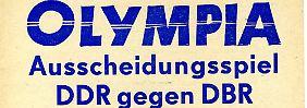 Von deutsch-deutscher Verständigung keine Spur: Als Herbergers Elf Olympia verpasste