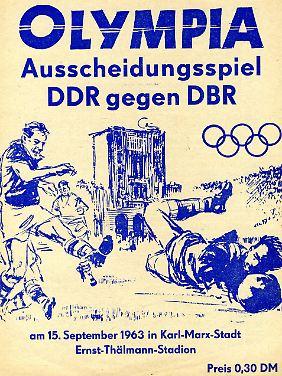 """1963 hatte sich die Abkürzung """"BRD"""" für die Bundesrepublik Deutschland in der DDR noch nicht durchgesetzt."""