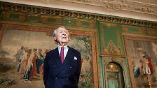 """""""Patriarch und Philosoph, Diplomat und Visionär, Ikone - und vor allem Mensch"""" - das sei Beitz gewesen, hob Gauck hervor."""