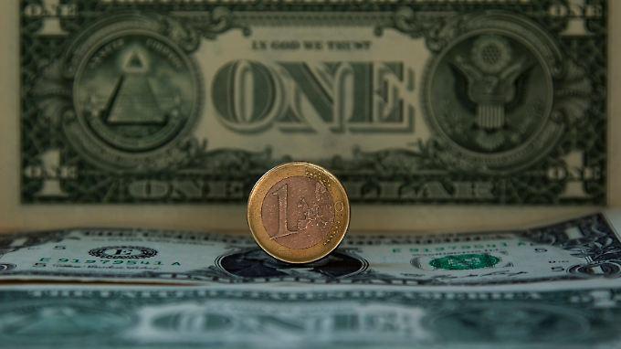 Die Schwäche des Dollars ist die Stärke des Euros.