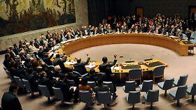Vernichtung syrischer Chemiewaffen: UN-Sicherheitsrat verabschiedet einstimmig Resolution
