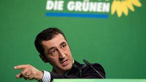 """""""CDU/CSU hat kein Mitspracherecht"""": Grüne loten Bündnis mit der Union aus"""