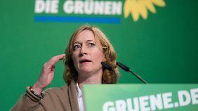 Kerstin Andreae bewirbt sich als Fraktionschefin. Sie kandidiert gegen Katrin Göring-Eckardt.