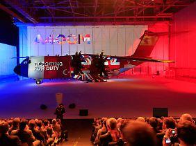 """Transportflugzeug mit wirtschaftlicher Bedeutung: """"Ich kann keine Zahl nennen, aber es gibt ein riesiges Export-Potenzial."""""""