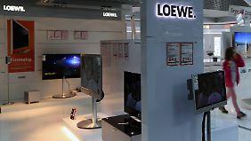 Antrag auf Insolvenz: Fernsehhersteller Loewe steht das Wasser bis zum Hals