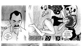 Raniero und Dora fühlen sich zueinander hingezogen. Sind die Außerirdischen daran schuld?