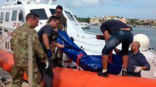 Dramatischer Schiffbruch vor Lampedusa: Katastrophe im Mittelmeer