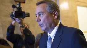 Boehner wirft Obama ebenfalls vor, auf stur zu schalten.