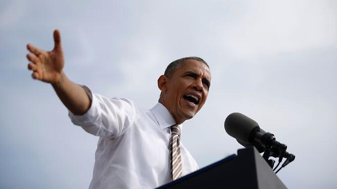 Bleibt daheim: US-Präsident Obama.