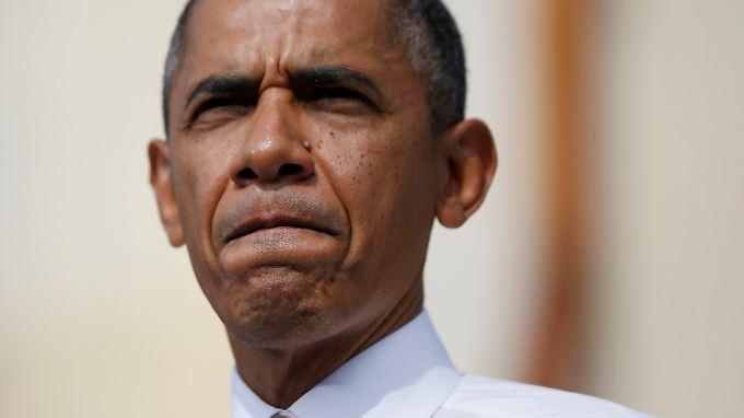 US-Präsident Obama hat genug vom Streit.