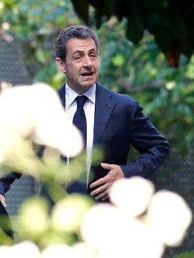 Nicolas Sarkozy liebäugelt mit einem politischen Comeback bei den Präsidentschaftswahlen 2017.