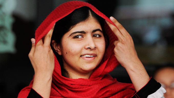 In der Vergangenheit wurde Malala bereits mehrfach für ihr mutiges Engagement ausgezeichnet.