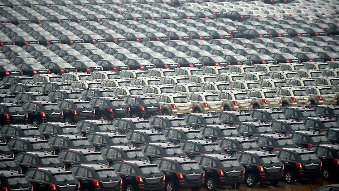 20 Millionen Fahrzeuge im Jahr 2020? Chinesische Autos, wie diese von Lifan, werden in Zukunft wohl noch häufiger auf den Straßen zu sehen sein.