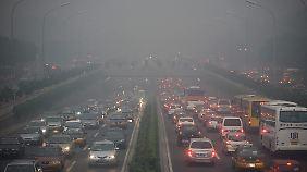 Kehrseite des Autobooms: Viele chinesische Städte haben mit massiver Luftverschmutzung zu kämpfen.
