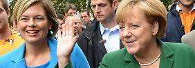 """""""Die Grünen wissen gar nicht, ob sie wollen sollen oder wollen dürfen"""", sagt Julia Klöckner."""