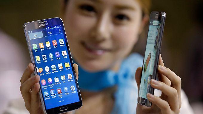 Goldesel Samsung Galaxy S4: Samsung meldet Rekordgewinn