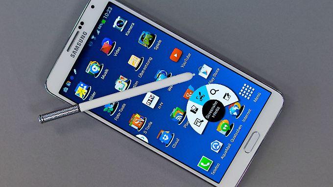 Nicht nur mit dem S Pen sticht das Galaxy Note 3 die Konkurrenz aus.