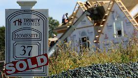 Der US-Immobilienmarkt lässt Wells Fargo gut verdienen.