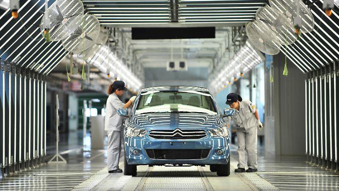 Peugeot und Dongfeng prduzieren im chinesischen Wuhan gemeinsam Autos.