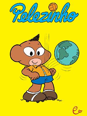 """""""Pelezinho"""", erschienen bei Rieder, 96 Seiten gebunden, 12,95 Euro (D)."""