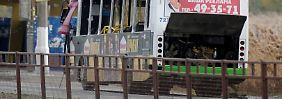 Bus explodiert in Wolgograd: Attentäterin war Frau eines Rebellen
