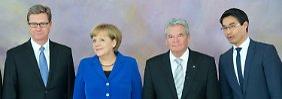 94,6 Prozent für zweiten Mann im Staat: Lammert erneut zum Bundestagspräsidenten gewählt