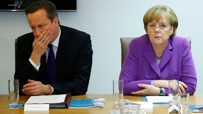 Auch Cameron gerät immer mehr in Zugzwang.