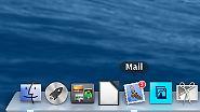 Mit braucht beispielsweise keine Anzeige neuer E-Mails im Dock.