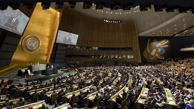 Die UN-Vollversammlung soll die seit 1976 bestehende Resolution erweitern.