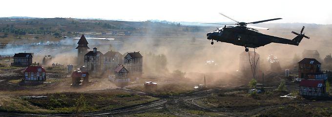 Dem Helikopter NH90 fehlt für den Afghanistan-Einsatz ein ausreichend schweres Maschinengewehr.