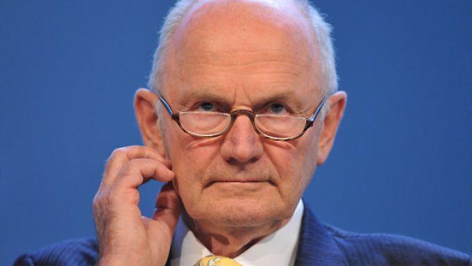 Über die PSE steuert die Familie Piech (hier Firmenpatriarch Ferdinand Piech) ihre Simmanteile.