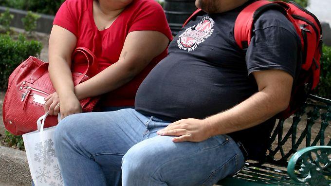 Rund 70 Prozent der Mexikaner gelten als übergewichtig.