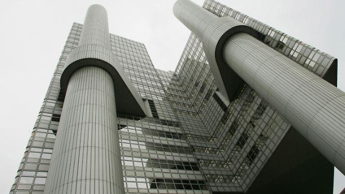 Die Zentrale der HypoVereinsbank in München. Allein die HVB soll einen Schaden von 124 Millionen Euro verursacht haben.