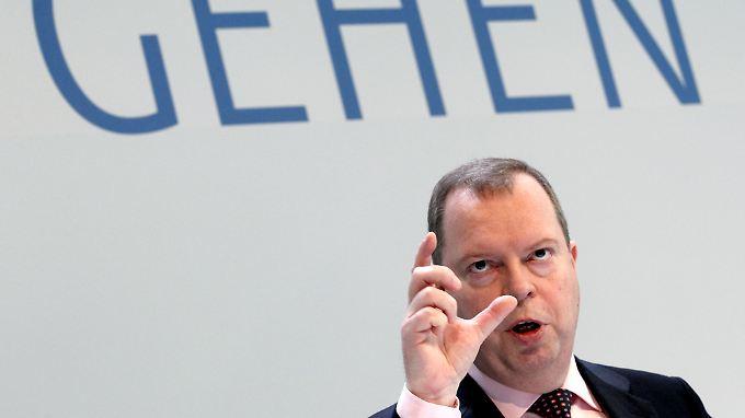 RWE-Chef Peter Terium sieht dringenden Handlungsbedarf.