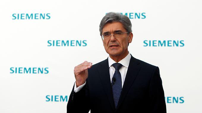 Zukunftsstrategie für Siemens: Kaeser hat große Pläne
