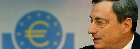 Zinsen auf Rekordtief: Draghi macht das Richtige
