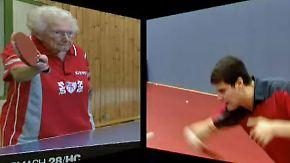 """Weltmeisterin mit """"Killerinstinkt"""": 92-jährige Tischtennisspielerin fährt zur Senioren-WM"""