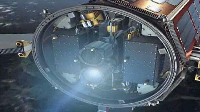 """Esa-Satellit """"Goce"""" ohne Treibstoff: """"Ferrari des Weltalls"""" stürzt auf die Erde"""