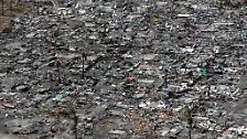 """Die Philippinen nach Taifun """"Haiyan"""": Luftbilder zeigen die ganze Verwüstung"""