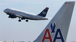 Fusion von AA und US Airways: Größte Fluggesellschaft der Welt kann abheben