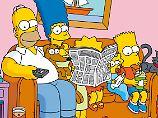 Die FAZ hatte in diesem Frühjahr mit den Simpsons geworben.