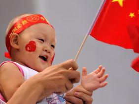 In chinesischen Familien gibt es kaum Geschwisterchen.