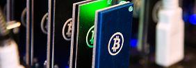 Massiver Kurseinbruch: Bitcoin stürzt ab