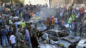 Mindestens 24 Tote: Al-Kaida-Gruppe bekennt sich zu Anschlag in Beirut