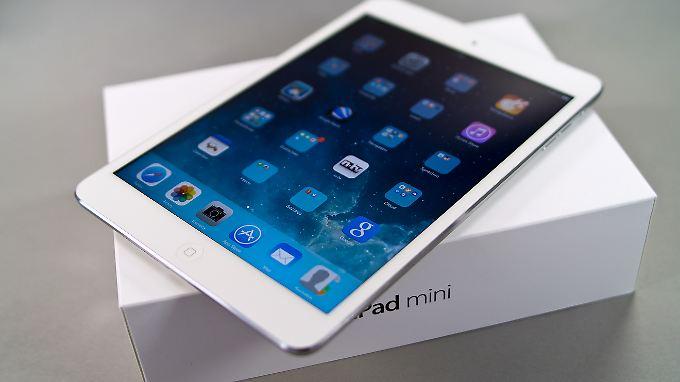 Das iPad mini hat jetzt einen hochauflösenden Bildschirm und arbeitet rasend schnell.