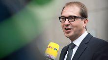 Seehofer befördert CSU-Generalsekretär: Alexander Dobrindt wird Minister