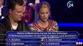 """Peinlicher """"Wer wird Millionär""""-Patzer: """"Waldi"""" Hartmann blamiert sich bei Fußballfrage"""