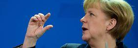 """Merkel will Putin davon überzeugen, dass die """"Östliche Partnerschaft"""" der EU nicht gegen Russland gerichtet ist."""