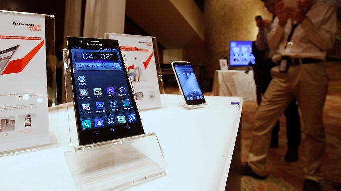 Flagschiff der Lenovo-Smartphone-Flotte ist das Modell K900.